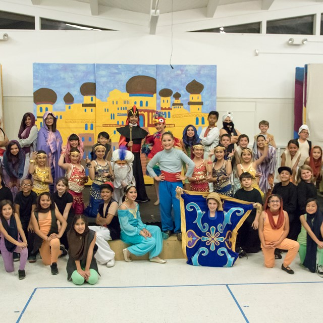 Stanley's Aladdin musical brings students together through their amazing performance!